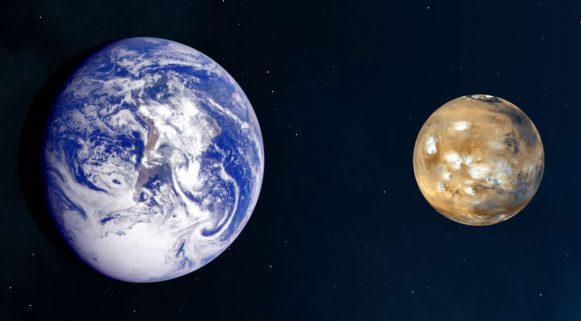 Il-confronto-tra-la-Terra-a-sin.-e-Marte
