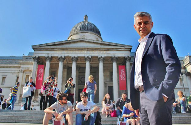 Sadiq-Khan-National-Gallery