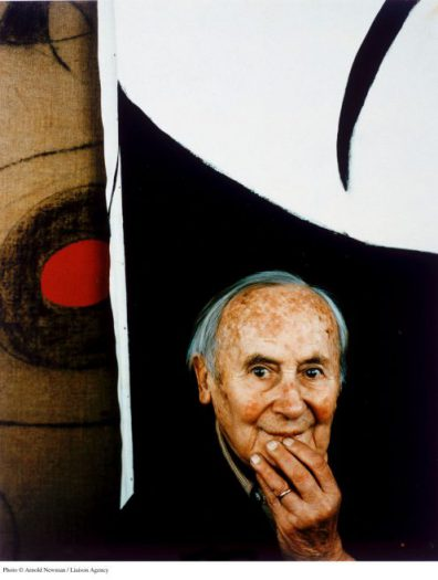 367029 01: ***EXCLUSIVE*** Portrait of Spanish Surrealist painter Joan Miro March 22, 1979 in Mallorca, Spain. (Photo by Arnold Newman/Getty Images)